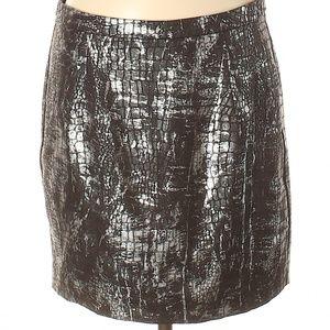 NWOT Michael Kors Metallic Skirt Size 8 Medium